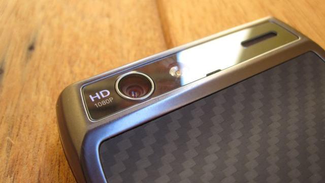 Review Motorola Razr - câmera