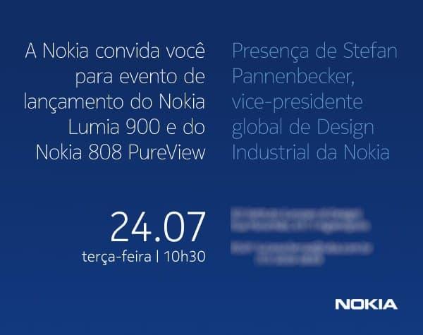 Convite Nokia