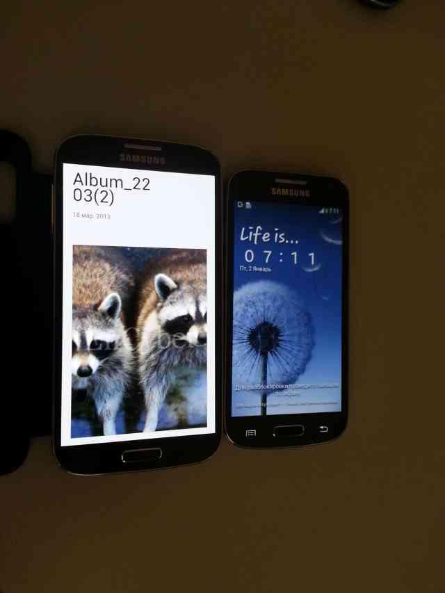Galaxy S4 mini vs Galaxy S4
