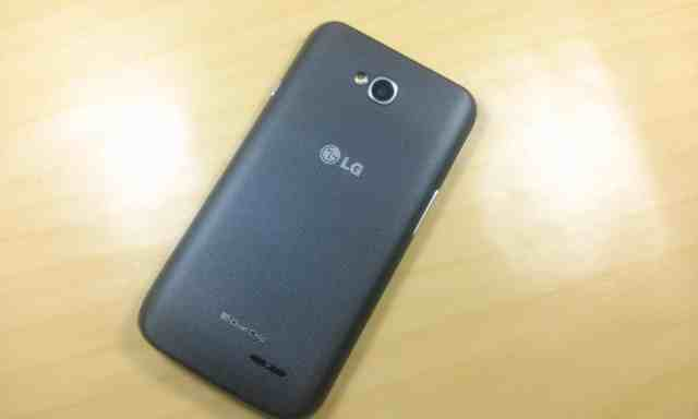 Review LG L70 traseira