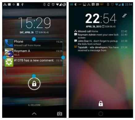 Android L notificações