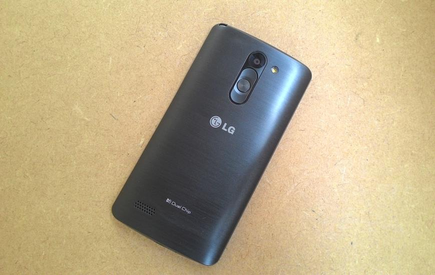 Review LG L Prime Dual TV fundo