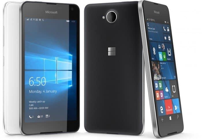 Lumia 650 tem design premium