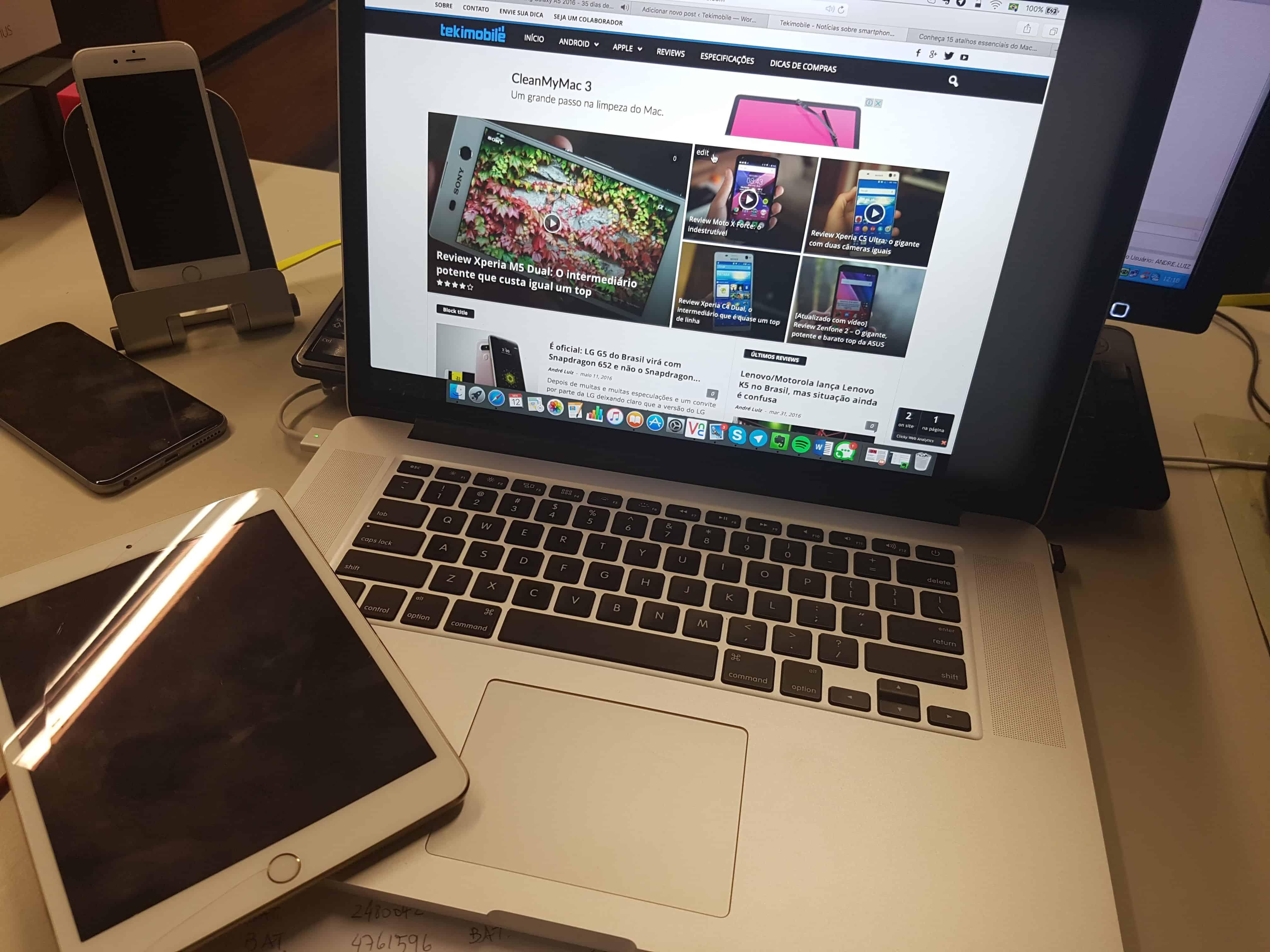 atalhos essenciais do Mac OSX