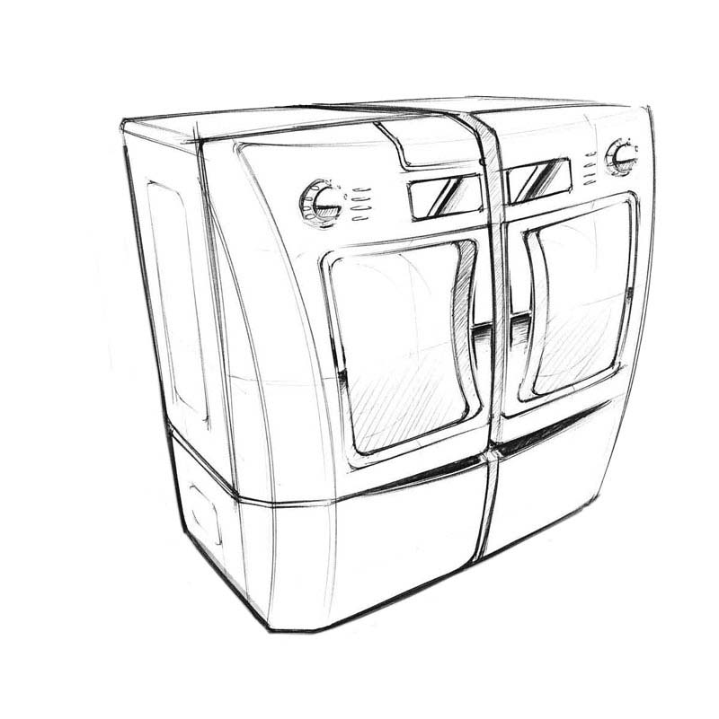 Laundry Concept Sketches