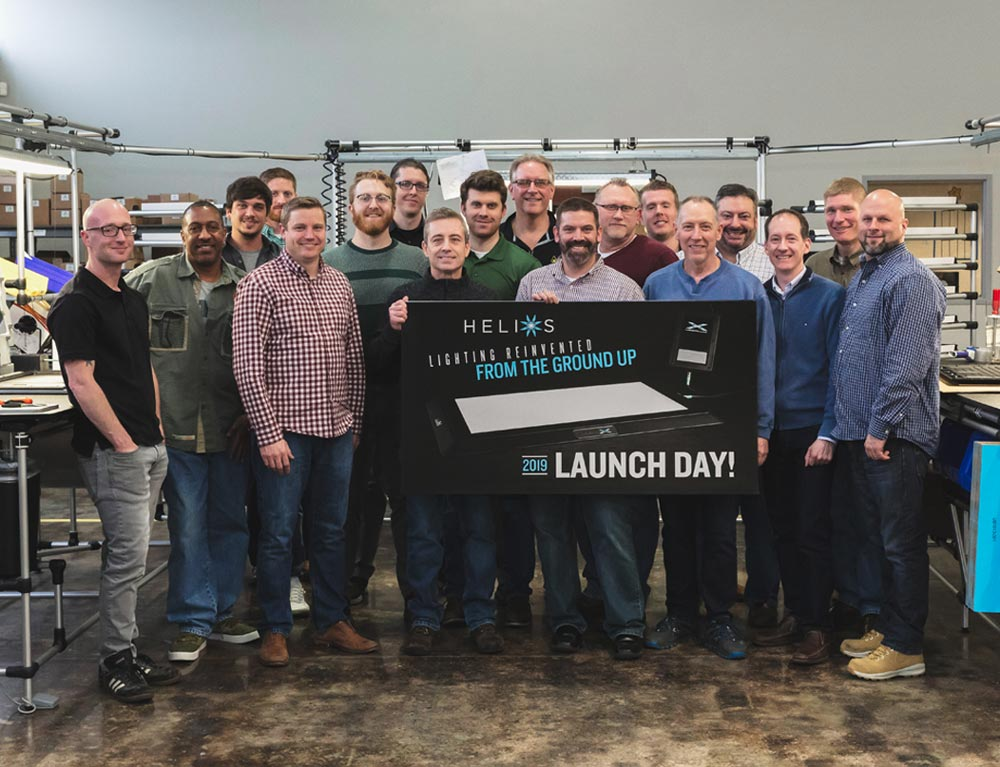 Helios Launch Day
