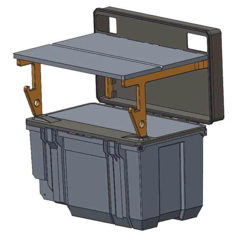 Irwin Job Box 3d rendering