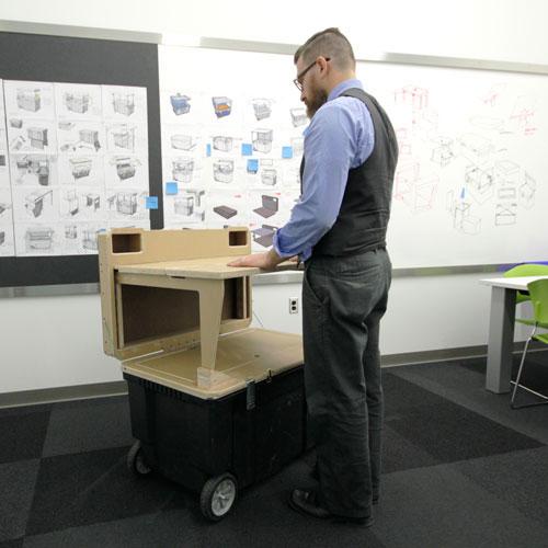 Irwin Job Box Standing Prototype