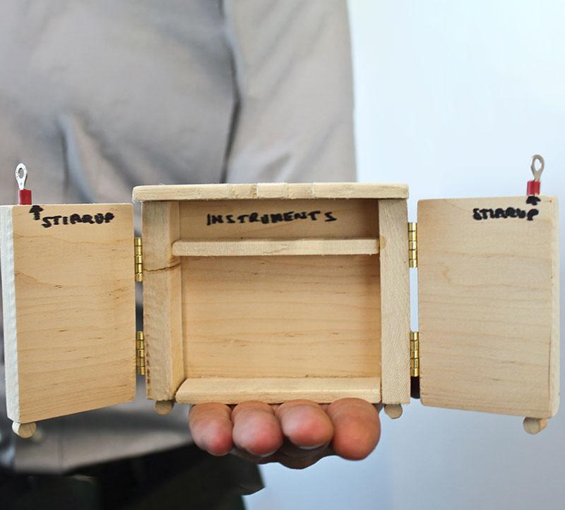 Retrofit Cart wooden prototype