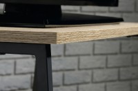 Teknik Office -Industrial Style TV Stand / Trestle Shelf