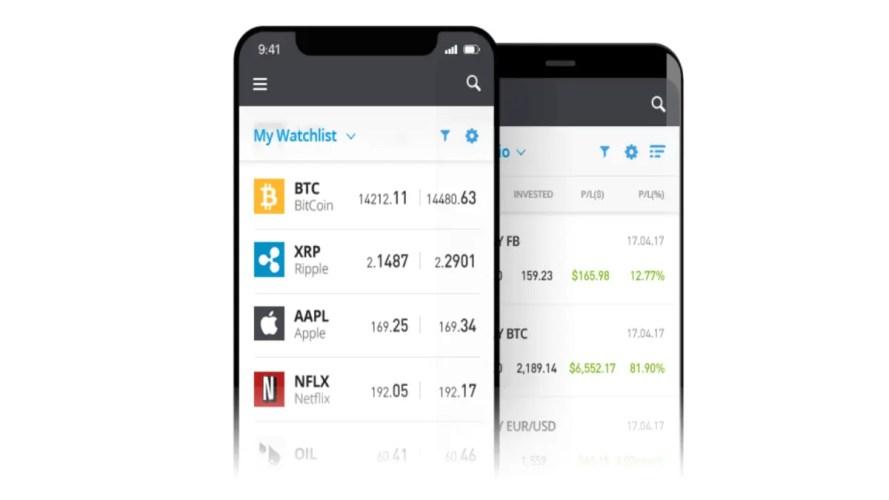 Ny tradingapp på eToro