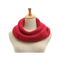 Men Women Knitted Tube Crochet Wrap Snood Cowl Neck Shawl