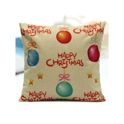 Sofa Box Cushion Covers Sofas Under 500 Dollars Christmas Candy Series Pillow Cases Home Square Cover