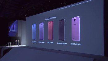 Samsung Galaxy S4 New Color Options