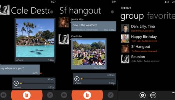 Voxer released for Windows Phone 8