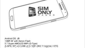 Galaxy Note 3 Sketches leaked
