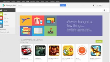 Google Play Store redesigned