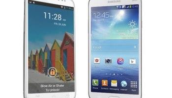 Compare Samsung Galaxy Mega 5.8 vs Canvas Doodle 2