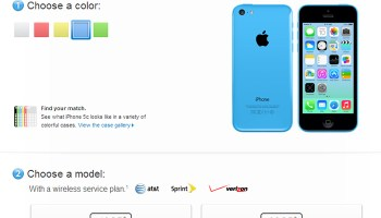 Apple iphone 5C is up for pre-order