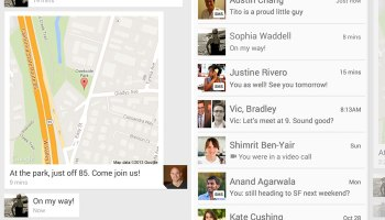 Google+ Hangouts got new features