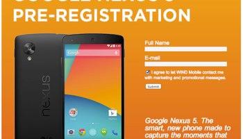 Google Nexus 5 Specifications Leaked