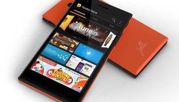 Jolla smartphone featuring Yandex AppSotre
