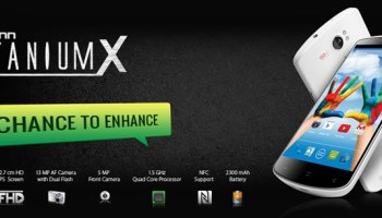 Karbonn Titanium X smartphone