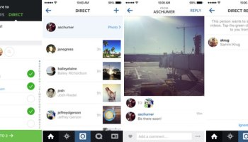 Instagram Direct for private photo and video