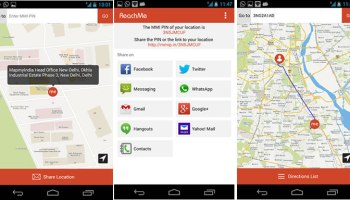 MapmyIndia ReachMe app for Android, iOS and Windows Phone launched