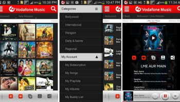 Vodafone Music Streaming Service launched in India