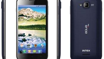 Intex Aqua i4+ smartphone launched in India