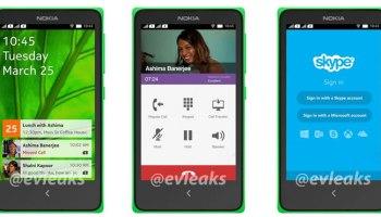 Nokia Normandy UI leaked in press renders