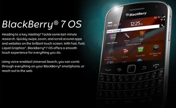 blackberry os 7 BlackBerry 7 OS tanıtıldı, eski cihazlar için güncelleme olmayacak