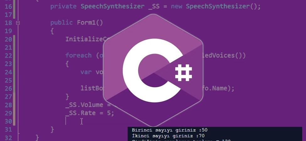 Kullanıcının Girdiği İki Sayının Toplamını Yazdıran C# Console Programı