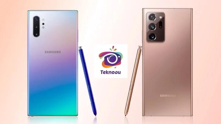 Galaxy Note10+ ve Samsung Galaxy Note20 Ultra; Arasındaki Farklar Nelerdir ?