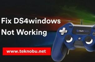 Ways-to-Fix-DS4windows-Not-Working