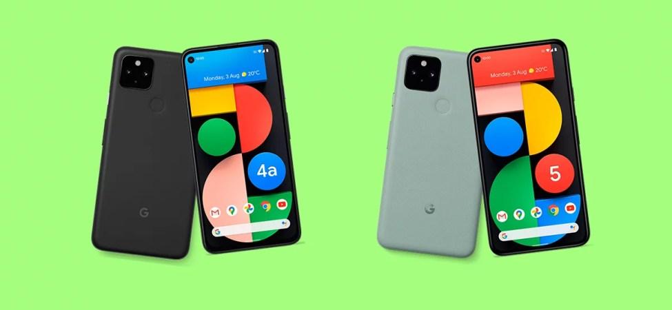 Pixel 5 ve Pixel 4a 5G Satışa Sunulacak