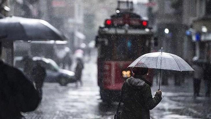 İstanbul'da 4 gün boyunca etkili olacak! Meteoroloji'den 18 il için şiddetli yağış uyarısı yapıldı