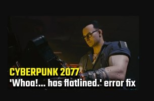 Cyberpunk 2077 Has Flatlined Issue Hata Çözümü