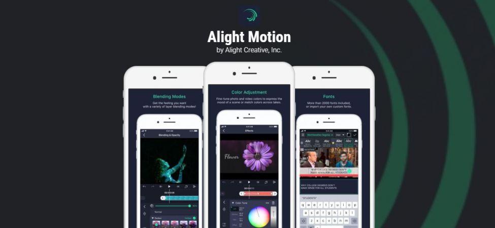 Alight Motion Pro Apk İndir (Kilitsiz Son Sürüm ) 2021
