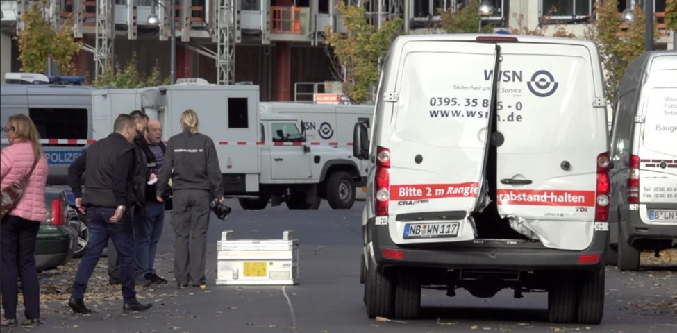 Berlin'de Para Kamyonu Soygunu Yapıldı: Bir kişi yaralandı 19 Şubat