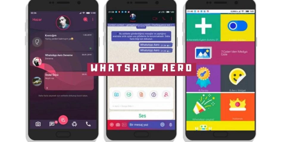 Whatsapp Aero Apk Son Sürüm İndir (2021)