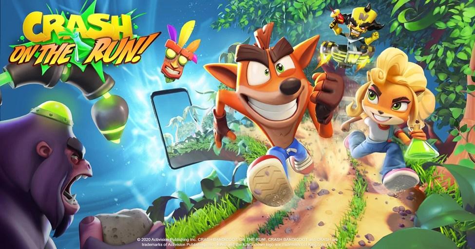 Crash Bandicoot On the Run Mod Apk