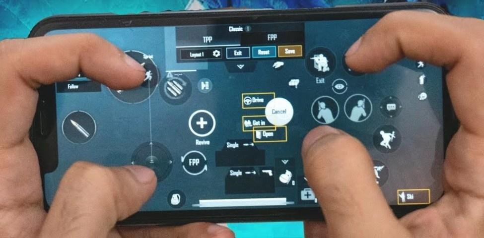 PUBG Mobile 4 Parmak Ayarı