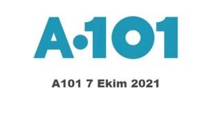 7 Ekim A101 Kataloğu 2021