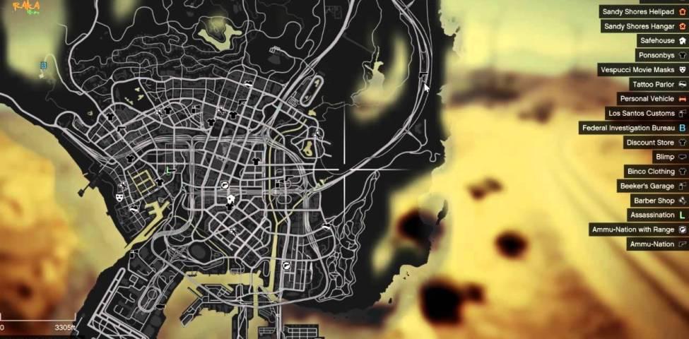 GTA 5 Askeri Üs Nerede, Nasıl Gidilir? 2021