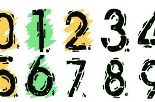 Sayıları yazmak için kullandığımız
