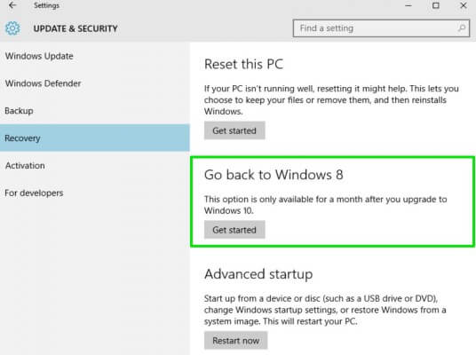 Cara mudah mengembalikan Windows 7 atau Windows 8, setelah di upgrade ke Windows 10