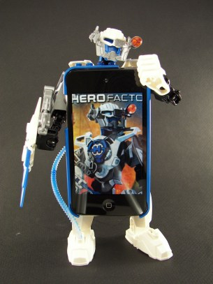 Blue iPod Hero 2