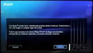 Philips Smart TV Skype
